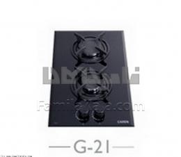 اجاق گاز وی کارن شیشه ای  مدل G-21 مشکی
