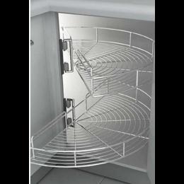 طبقه گردان داخل كابینت بهینه