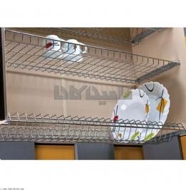 آبچكان دو طبقه بهینه ویژه کابینت تمام چوب یونیت 100 سانت