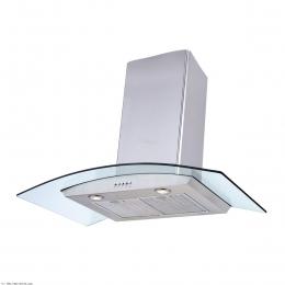 هود آشپزخانه بیمکث شومینه ای مدل B2005U استیل