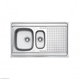 سینک ظرفشویی لتو روکار مدل 9-TL