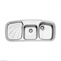 سینک ظرفشویی استیل البرز روکار مدل 270