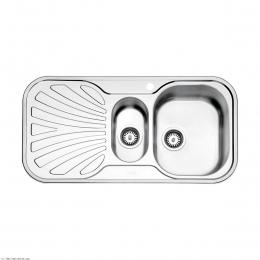 سینک ظرفشویی استیل البرز توکار مدل 510