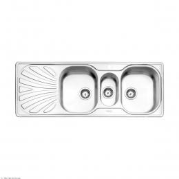 سینک ظرفشویی استیل البرز توکار مدل 530