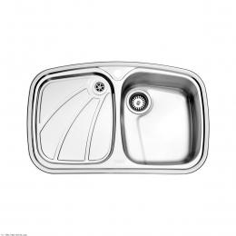 سینک ظرفشویی استیل البرز توکار مدل 618