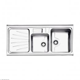 سینک ظرفشویی  استیل البرز توکار مدل 814