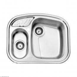 سینک ظرفشویی استیل البرز توکار مدل 605