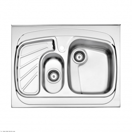 سینک ظرفشویی استیل البرز روکار مدل 608/60
