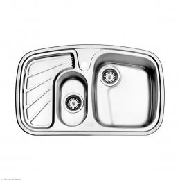 سینک ظرفشویی استیل البرز توکار مدل 608