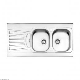 سینک ظرفشویی استیل البرز توکار مدل 725