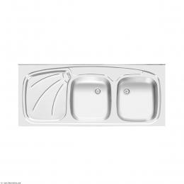 سینک ظرفشویی  اخوان روکار مدل 127