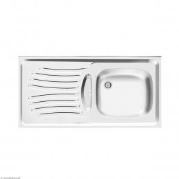 سینک ظرفشویی اخوان روکار مدل 123