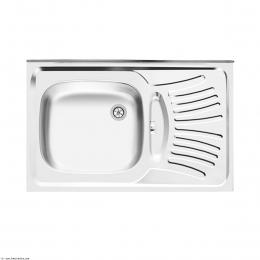 سینک ظرفشویی اخوان روکار مدل 124