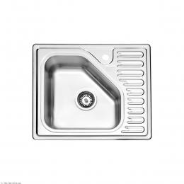 سینک ظرفشویی  استیل البرز توکار مدل 810
