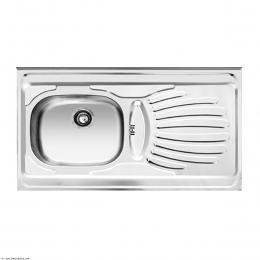 سینک ظرفشویی اخوان روکار مدل 37