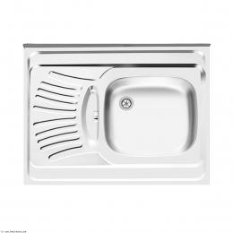 سینک ظرفشویی اخوان روکار مدل 126