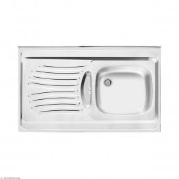 سینک ظرفشویی اخوان روکار مدل 125