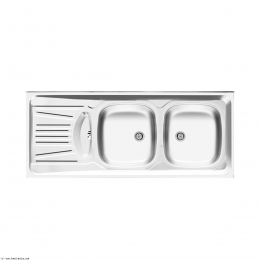 سینک ظرفشویی اخوان مدل روکار 39