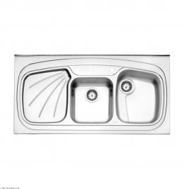 سینک ظرفشویی  استیل البرز توکار مدل 270/50