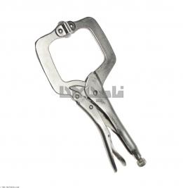 انبر قفلی C  شکل هماهنگ شونده  ایران پتک  مدل HE1110