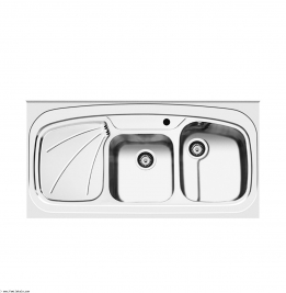 سینک ظرفشویی اخوان روکار مدل 25