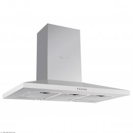 هود آشپزخانه بیمکث شومینه ای مدل B 7002 U سفید