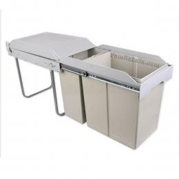 سطل زباله دو مخزنه سیمتال متوسط