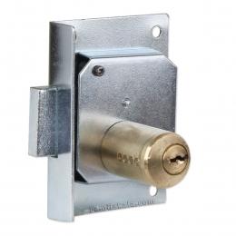 قفل درب کمد و کابینت رویان مدل دوپله