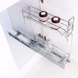 سبد جا بطری ریل کف فراسازان یونیت 15 با قابلیت نصب درب