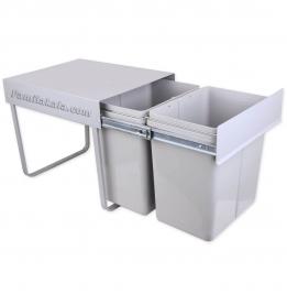 سطل زباله دو مخزنه ریلی مدل813 متوسط