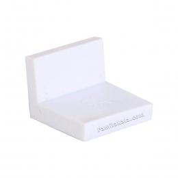 گونیا کابینت روکش دار سفید 4/1*4/6 سانت