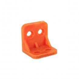 گونیا کابینت نارنجی کوچک پلاستیکی 2/7*2/7 سانت
